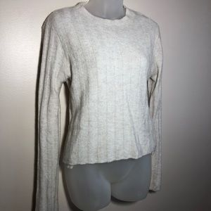 Small Divided by H&M White Ivory Sweater Top